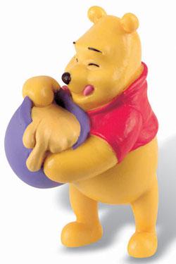 Winnie the Pooh Figure Winnie with Honey 7 cm