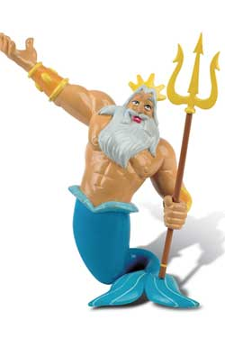 The Little Mermaid Figure King Triton 10 cm