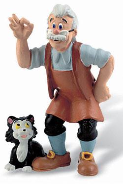 Pinocchio Figure Gepeto 8 cm