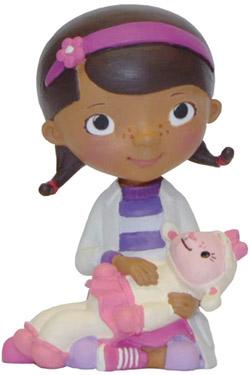 Doc McStuffins Figure Doc with Lambie 6 cm