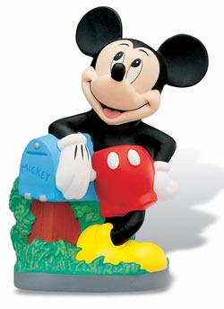 Disney Figure Bank Mickey Mouse 23 cm