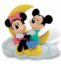 Disney Figure Bank Mickey & Minnie 18 cm