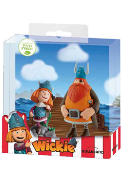 Vicky the Viking Gift Box with 2 Figures Vicky & Halvar 7 - 12 cm