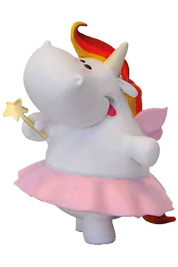 Chubby Unicorn Figure Fairy 7 cm