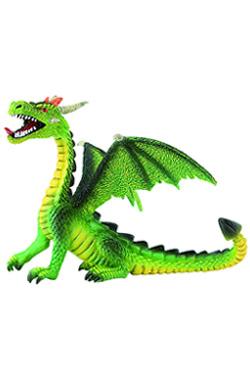 Bullyland Fantasy Figure Dragon sitting (green) 11 cm
