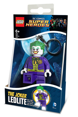 Lego DC Comics Mini-Flashlight with Keychains Joker