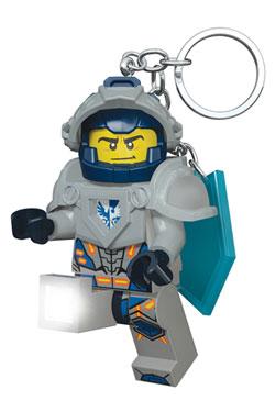 Lego Nexo Knights Mini-Flashlight with Keychains Clay