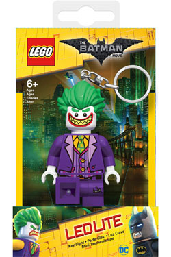 Lego Batman Movie Mini-Flashlight with Keychains Joker