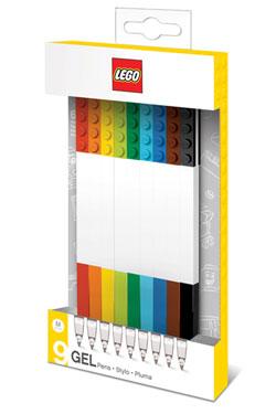 LEGO Gel Pens 9-Pack Bricks