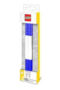 LEGO Gel Pens 2-Pack Bricks blue