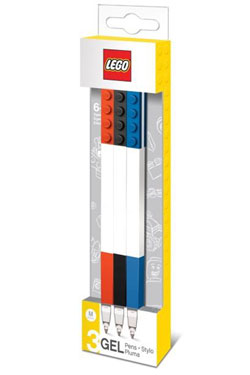 LEGO Gel Pens 3-Pack Bricks