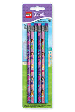 LEGO Friends Pencil 6-Pack