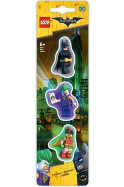 LEGO Batman Movie Mini-Erasers 3-Pack