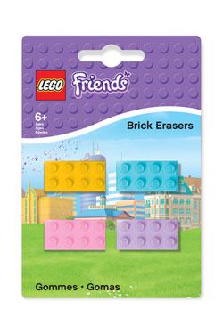 LEGO Friends Mini-Erasers 4-Pack
