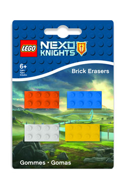 LEGO Nexo Knights Mini-Erasers 4-Pack