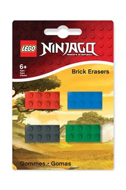 LEGO Ninjago Mini-Erasers 4-Pack