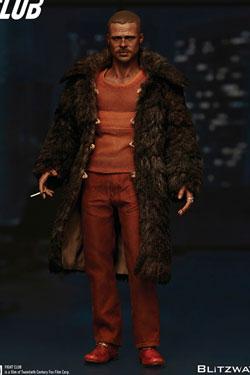 Fight Club Action Figure 1/6 Tyler Durden (Brad Pitt) Fur Coat Ver. 30 cm