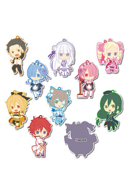Re:Zero Rubber Charms 7 cm Assortment Toy'sworks Collection Niitengomu! (10)