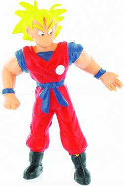 Dragonball Z Mini Figure Yellow Goku 10 cm