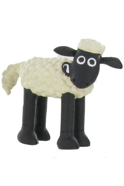 Shaun the Sheep Mini Figure Shaun On Four Legs 6 cm