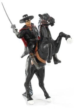 Zorro Mini Figure Zorro & Tornado 12 cm