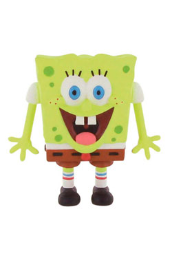 SpongeBob Square Pants Mini Figure SpongeBob smile 7 cm