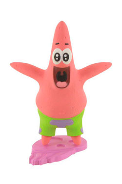 SpongeBob Square Pants Mini Figure Patrick 8 cm