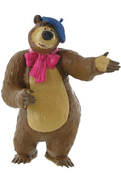 Masha and the Bear Mini Figure Bear Painter 8 cm