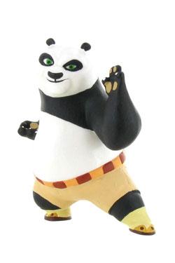 Kung Fu Panda Mini Figure Po Defense 8 cm