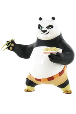 Kung Fu Panda Mini Figure Po Eating 8 cm