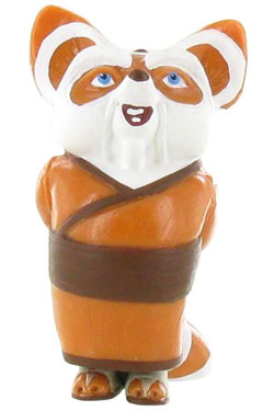 Kung Fu Panda Mini Figure Shifu 6 cm
