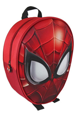 Marvel Comics 3D Backpack Spider-Man Face 25 x 31 x 10 cm