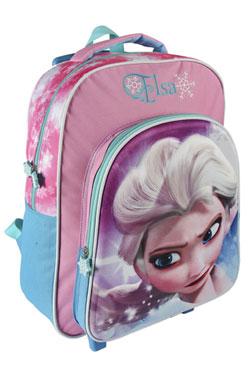 Frozen 3D Trolley Backpack Glossy Elsa