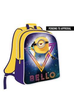 Minions Backpack with Light Bello