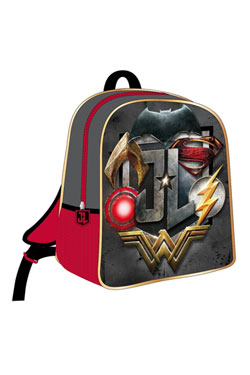 Justice League 3D Backpack Logo 25 x 31 x 10 cm