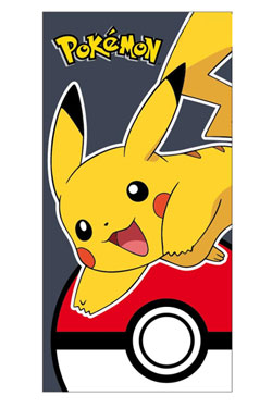 Pokemon Towel Pikachu & Pokeball 140 x 70 cm