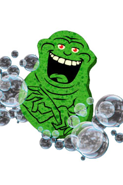 Ghostbusters Sponge Slimer