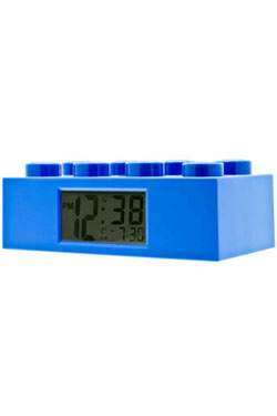 Lego Alarm Clock Lego Brick blue