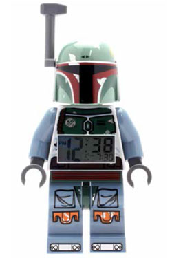 Lego Star Wars Alarm Clock Boba Fett
