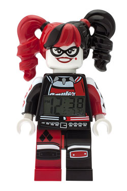 The LEGO Batman Movie Alarm Clock Harley Quinn