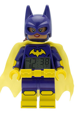 The LEGO Batman Movie Alarm Clock Batgirl