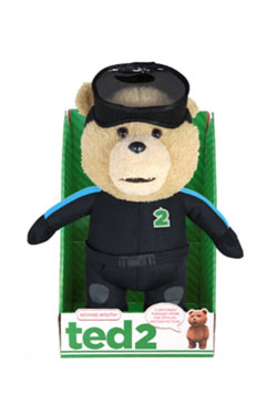 Ted 2 Animated Talking Plush Figure Scuba Explicit 40 cm
