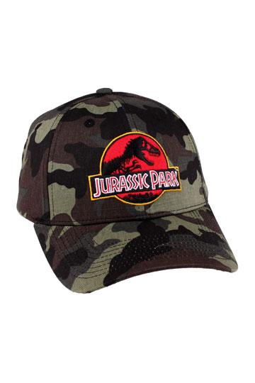 a47d42e8942ab Jurassic Park Baseball Cap Camouflage Logo