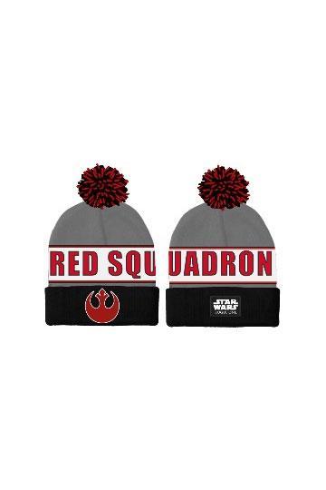 5309d1b83e2 Star Wars Rogue One Pom-Pom Beanie Red Squadron