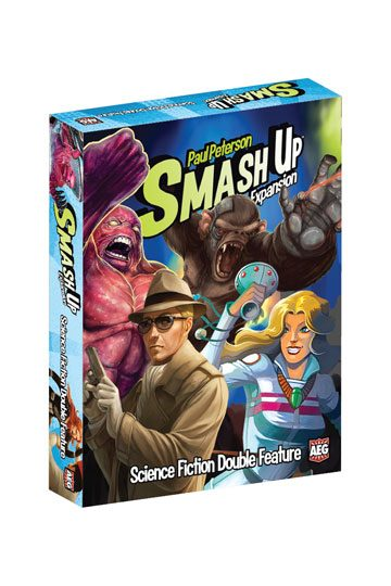 Smash Up Board Game Expansion Science Fiction Double Feature