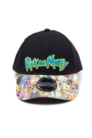 243d52130c9 Rick   Morty Baseball Cap Sublimated Print Curved Bill