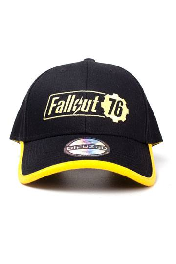 524120b194b Fallout 76 Baseball Cap Yellow Logo