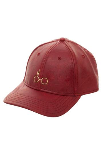 ba5bfacb9b423 Harry Potter Baseball Cap Glasses Gold Logo