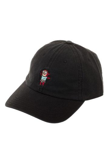 e646be9daa3 Rick and Morty Baseball Cap Morty Jr Embroidered