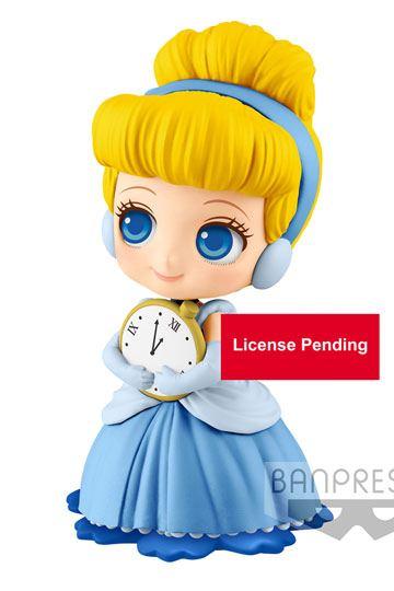 Banpresto Disney Q posket petit Blue Fairy Pinocchio japan limited figure 7cm
